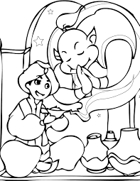 aladdin coloring page handipoints