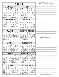 printable calendar year 2015 five styles of free printable 2015 calendars in pdf format download