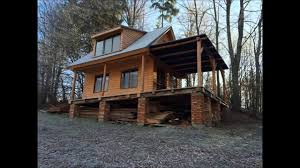 How To Build A Cabin House | how to build a wooden cottage log cabin log house part 1