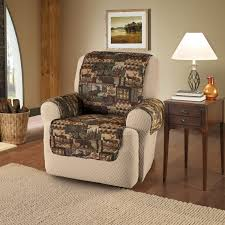 make tie on wing recliner slipcover indoor u0026 outdoor decor
