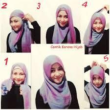tutorial hijab resmi tutorial jilbab segi empat resmi various daily
