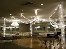 Tulle Decorations Wedding Ceiling Decorations Tulle Tulle Draping Over Dance Floor