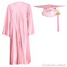 pink graduation cap economy high school graduation caps and gowns pink