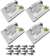 cabinet sle colors 17 20 ford duty f250 f350 f450 billet bed tie d rings anchors loops 4 ebay