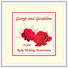 what is 40th wedding anniversary 40th wedding anniversary ideas the wedding specialiststhe