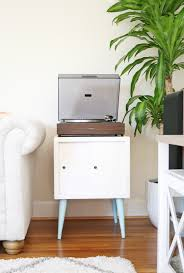 Record Player Cabinet Plans by Diy Record Player Cabinet Do It Your Self