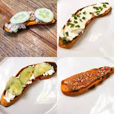 patate douce cuisine toast de patate douce ou tartine de patate douce cuisine de mémé