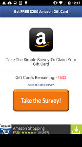 survey for gift cards gazon malware spreads via sms using gift card offers