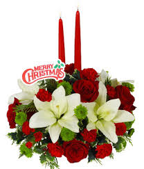 Christmas Centerpiece Images - christmas floral centerpiece with holiday pick at from you flowers