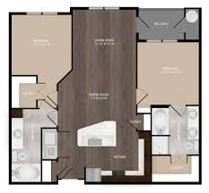 studio 1 2 3 bedroom apartments the millennium kirby 2 bed 2 bath b1