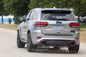trackhawk jeep spied 2018 jeep grand cherokee trackhawk in the buff