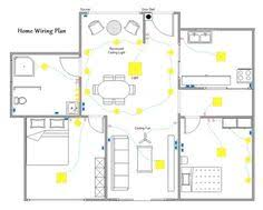 Electrical Plan The Reflected Lighting Ceiling Plan Of The