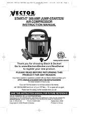 air compressor users guides from