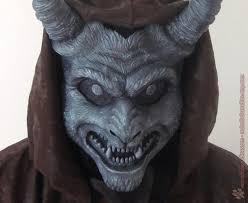 Gargoyle Costume Krampus Horned Demon Mask U2013 Red Nebula Studios