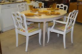 shabby chic dining room table shabby chic table set the spring st gallery
