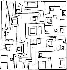 geometric coloring pages geometric design 23 coloring page
