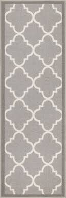 Modern Gray Rug Dallas Moroccan Trellis Grey And White Casual Modern Trellis Mat