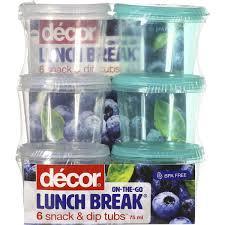 woolworths home decor decor bright u0026 healthy lunch break snack u0026 dip tubs 75ml 6pk