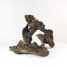 10 5hx13w driftwood sculpture for aquarium aquascape biotope hole