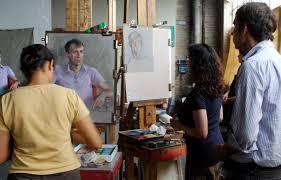 studio incamminati blog ellen eagle workshop portrait painting