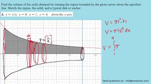stewart calculus 8th ed solutions chapter 6 2 2 youtube