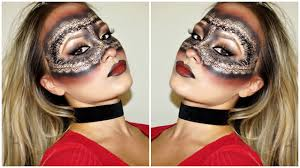 halloween face masks lace face mask halloween makeup tutorial ombre drawn lace face