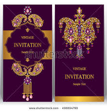 indian wedding invitations nyc indian wedding invitation card abstract background stock vector