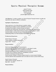 Physical Therapy Resume Examples by 100 Pta Resume Respiratory Therapist Resume Examples