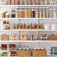 Kitchen Glass Canisters With Lids by Anchor Hocking Glass Canisters With Glass Lids The Container Store