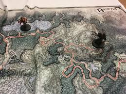 Map Fabric Had Some D U0026d Maps Printed On To Fabric For My Players To Use