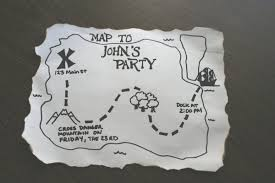Blank Pirate Map Template by Make A Pirate Party Invitation Chica And Jo