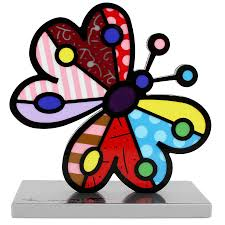 britto garden base sculpture garden butterfly