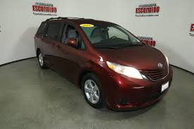 nissan sienna 2016 certified pre owned 2016 toyota sienna mini van passenger in