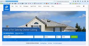 how to link to your website for your home from a zillow listing