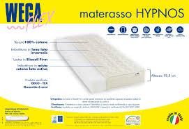 materasso eliocell materasso hypnos sottovuoto