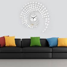 Fashion Home Decor by Using Wall Clock For Home Decoration Ward Log Homes