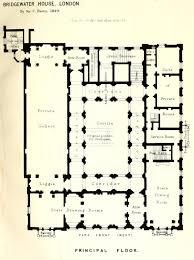 floorplan of the bridgewater house london palaces pinterest