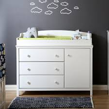 south shore cotton candy changing table with drawers soft gray south shore cotton candy changing dresser reviews wayfair ca