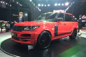 land rover truck 2015 crackpot startech range rover pick up truck shown in shanghai