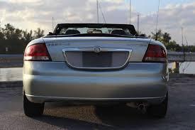 2004 Chrysler Sebring Convertible Interior 2004 Chrysler Sebring Limited 2dr Convertible In Hollywood Fl E
