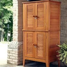 small outdoor plastic storage cabinet tall garden storage outdoor storage cabinet backyard storage bins