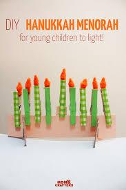 kids menorah hanukkah menorah craft for kids and crafters