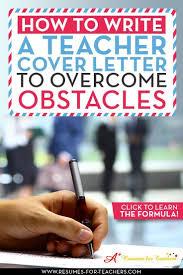 Resume For Teacher Post 81 Best Teacher And Principal Cover Letter Samples Images On