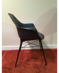 midcentury desk chair don t miss this deal sam avedon alladin plastic black molded
