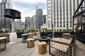 indoor outdoor space a sneak peek at the renaissance hotel u0027s new riverfront rooftop