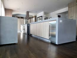 Kitchen Islands With Legs This Is Contemporary Kitchen With Two Concrete Island Countertops