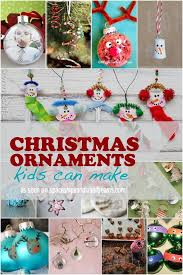 Making Christmas Ornaments - 13 homemade christmas ornaments kids can make spaceships and