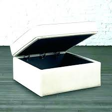 square storage ottoman with tray storage ottoman with tray ottoman with trays and storage large