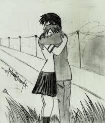 die in love pencil sketch cute love drawings easy emo love