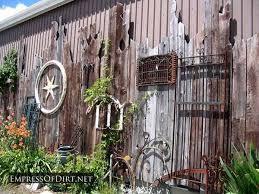 Garden Fence Decor 25 Creative Ideas For Garden Fences Empress Of Dirt